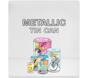 Metalic Tin Can Collection
