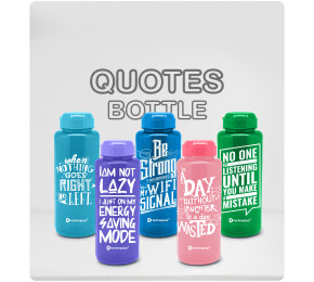 Quotes Bottle Collection