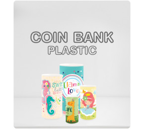 Coin Bank Plastic Collection