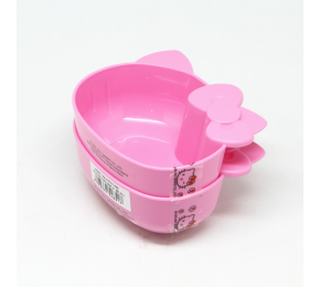 HELLO KITTY CHILI BOWL 4'' SET OF 2