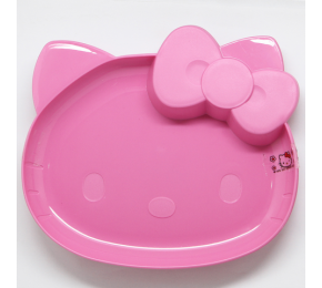 HELLO KITTY CAKE PLATE 7'' SET OF 2