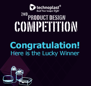 Congratulation! Here Is The Lucky Winner for The 2nd Product Design Competition
